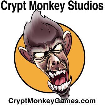 Crypt Monkey Logo Black Text - small
